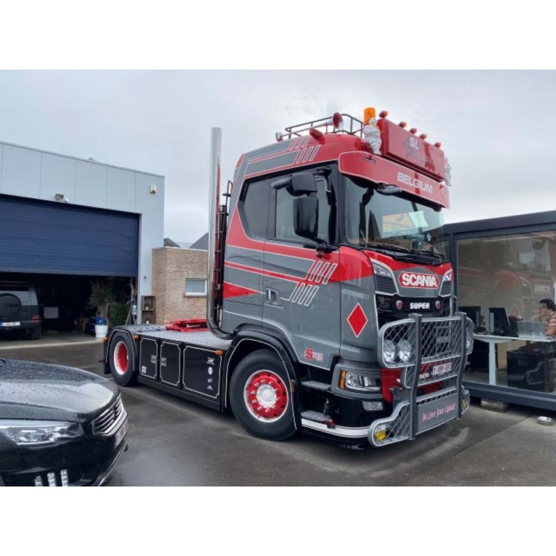 SL Logistics Scania Next Gen S-Series With 20Ft ISO Container