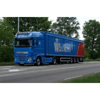 Walkro DAF XF Euro 6 SSC With Walking Floor Trailer