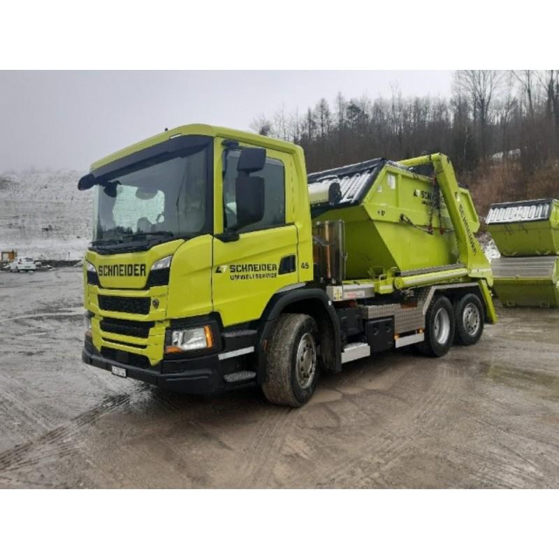Schneider Umweltservice Scania Next Gen G-Series Skip Lorry