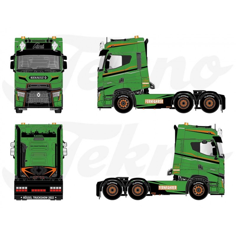 Rüssel Truck Show Renault T High 6X2