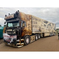 Maik Terpe Scania R-Series Topline 6X2 With Reefer Trailer