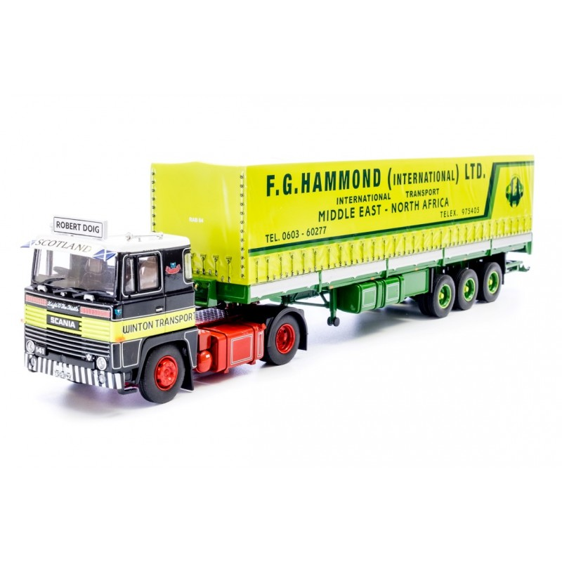 Winton Transport / Robert Doig Scania 141 **B-CHOICE**