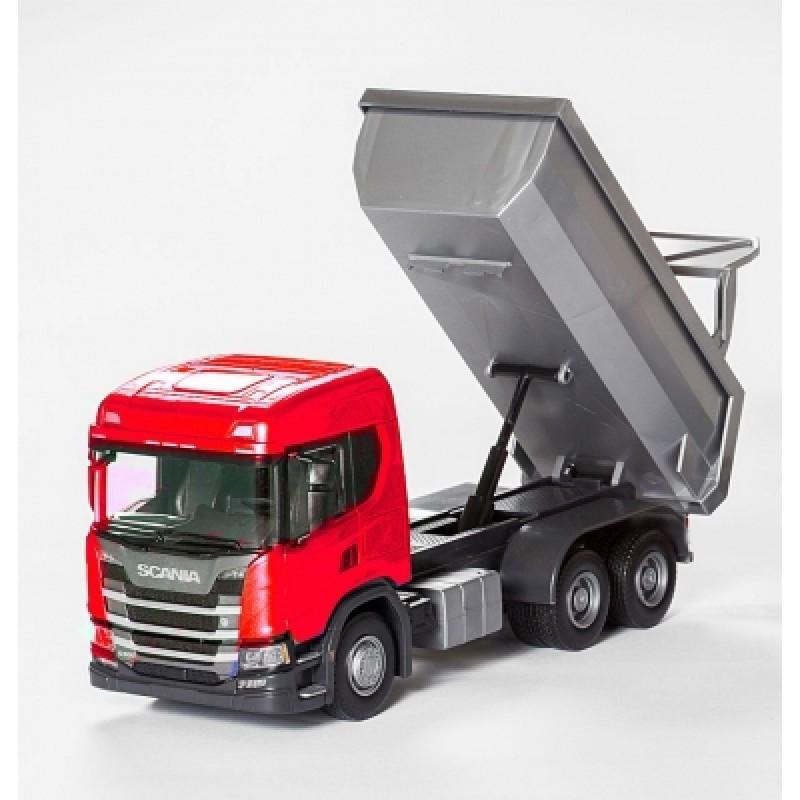 Scania G 500 6X4 Dump Truck - Red 1:25 Scale