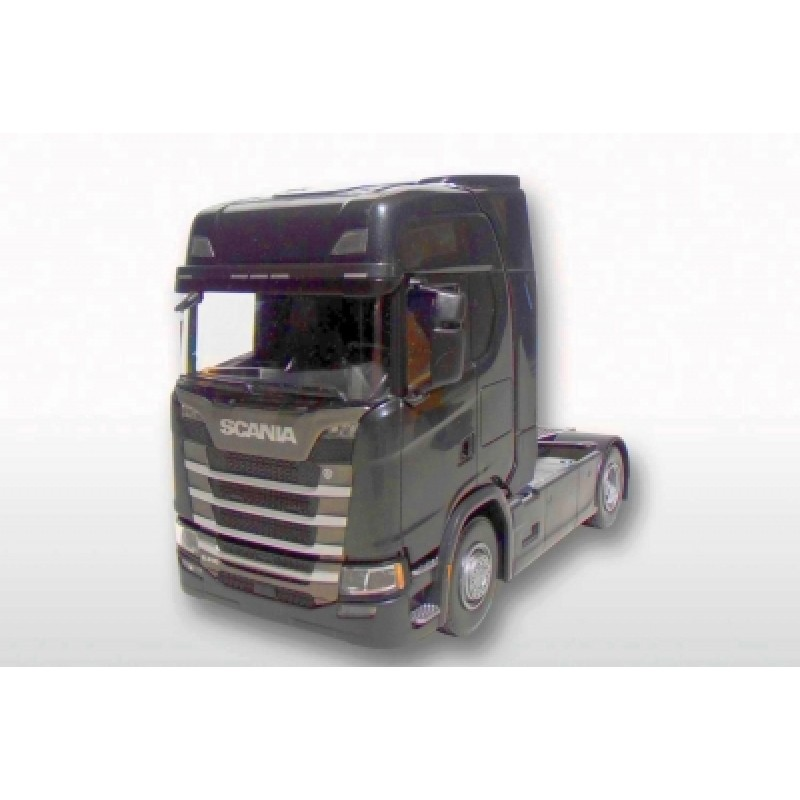 Scania Cs410 4X2 Tractor Unit - Black 1:25 Scale