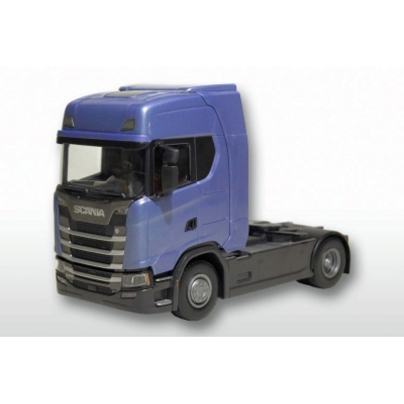 Scania Cs410 4X2 Tractor Unit - Blue 1:25 Scale