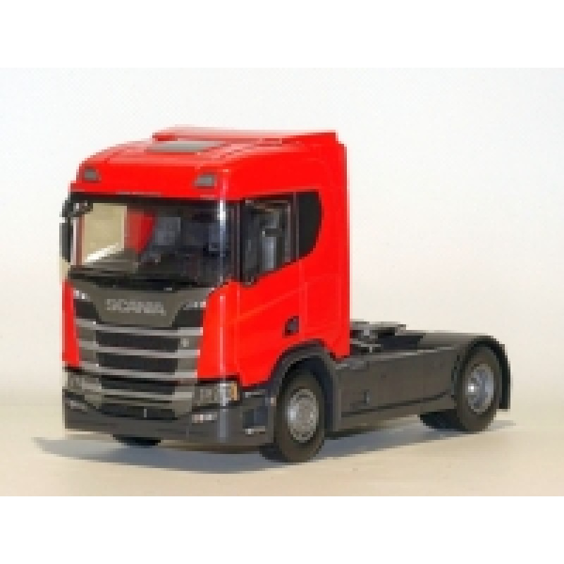 Scania Cs410 4X2 Tractor Unit - Red 1:25 Scale