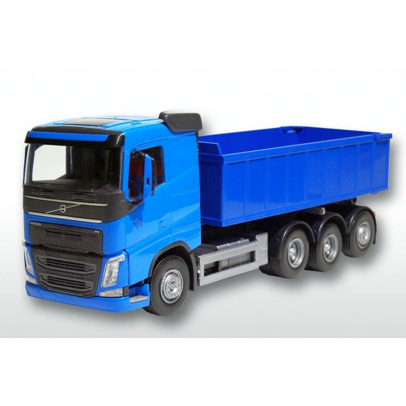 Volvo FH04 8x4 Blue Cab Blue Roll Off Container