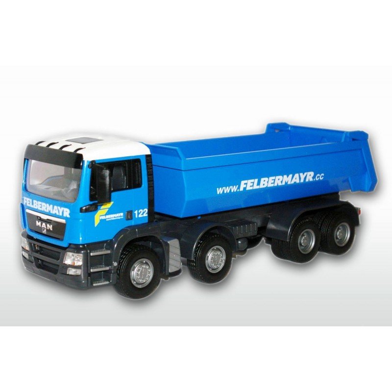 MAN TGS Blue Cab 4 Axle Felbermayr Tipper