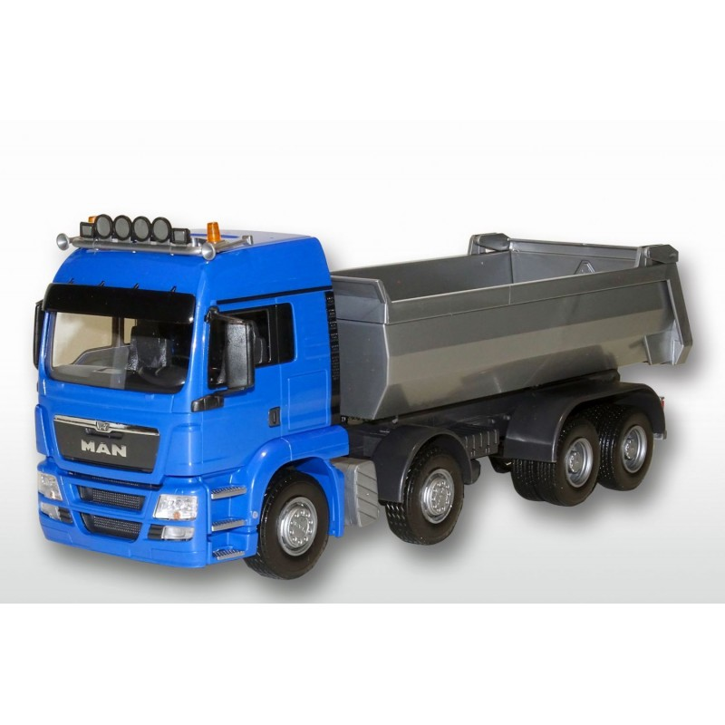 MAN TGS Blue Cab 4 Axle Tipper