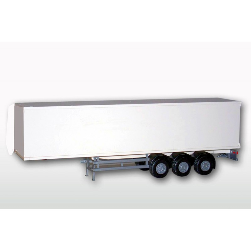 Box Semi Trailer While