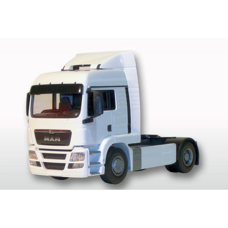 MAN TGS LX 4x2 Tractor Unit White Cab