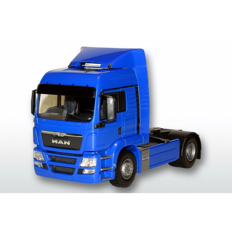MAN TGS LX 4x2 Tractor Unit Blue Cab