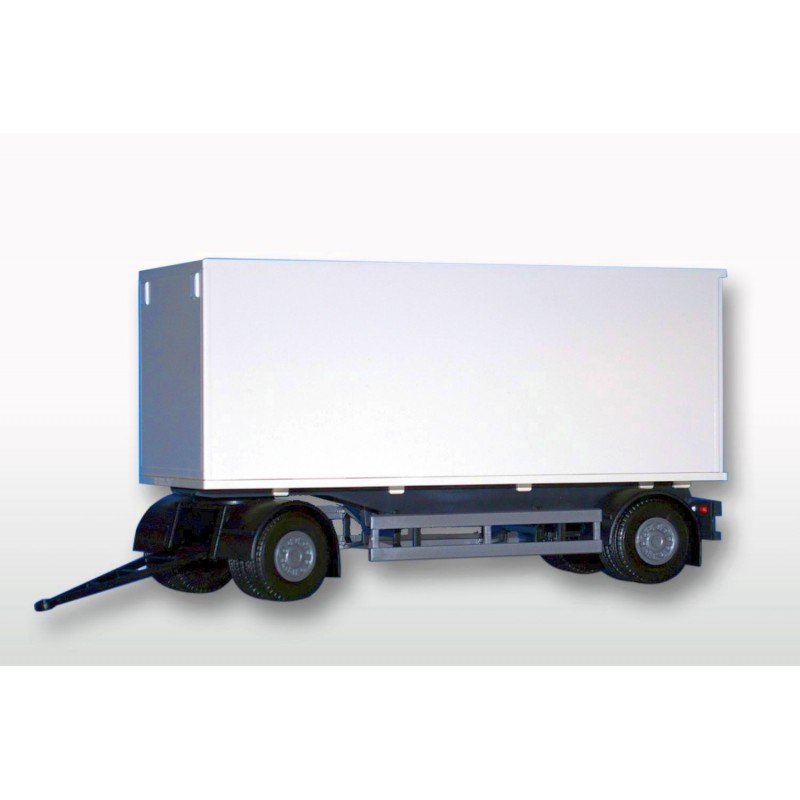 2 Axle White Box Trailer