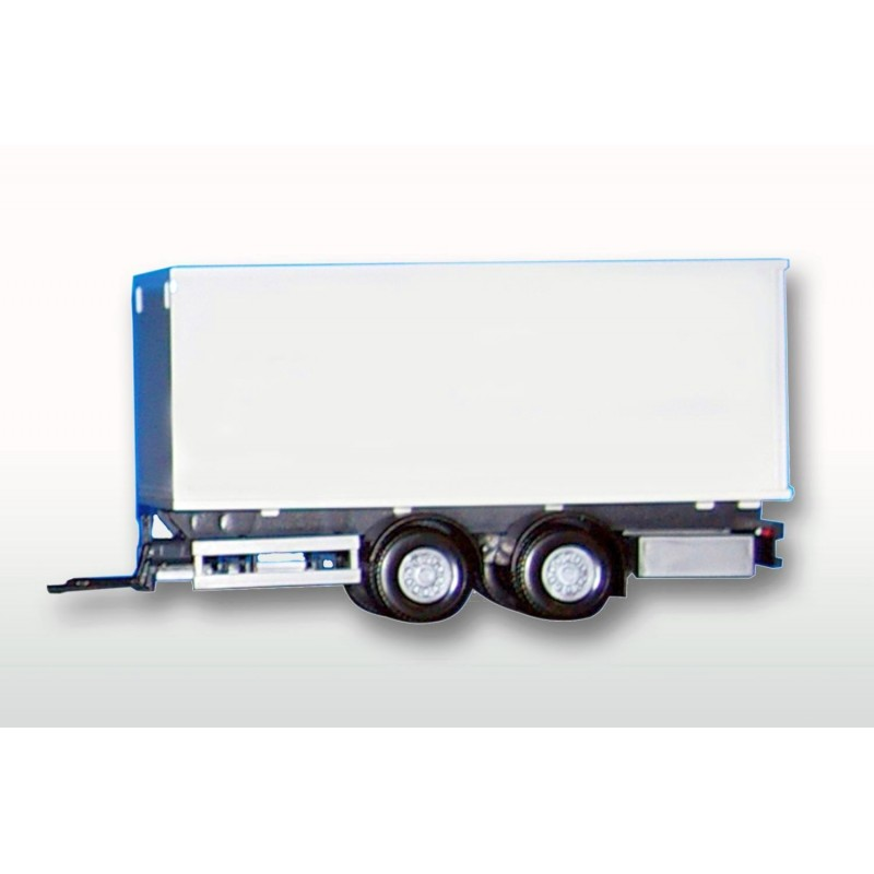 2 Middle Axle White Box Trailer
