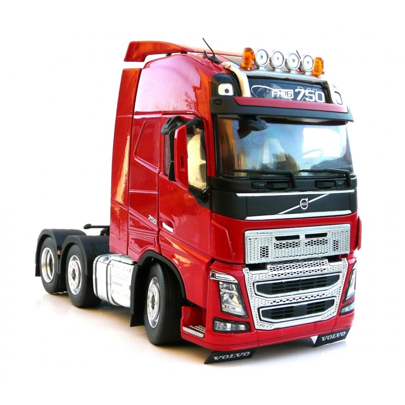 Volvo FH16 6X2 Red 1:32 Scale