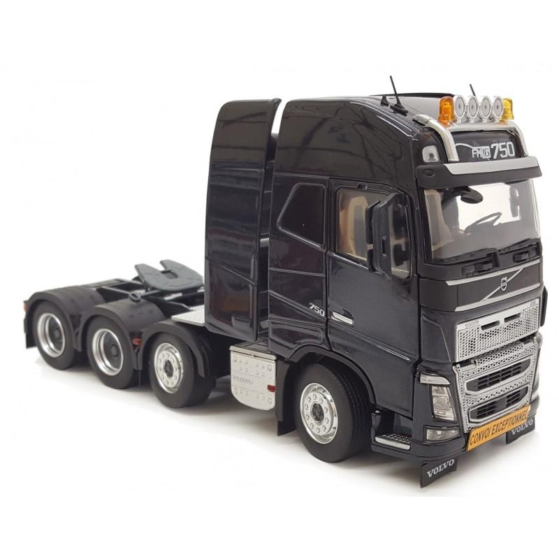 Volvo FH16 8X4 Black 1:32 Scale