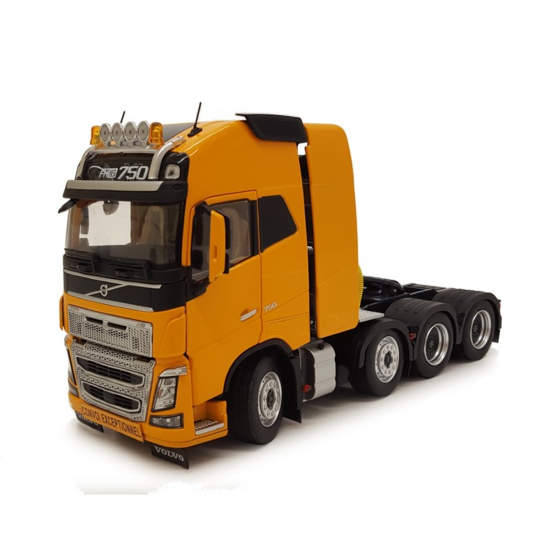 Volvo FH16 8X4 Yellow 1:32 Scale
