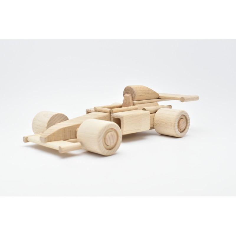 Formula 1 Car Wood Model