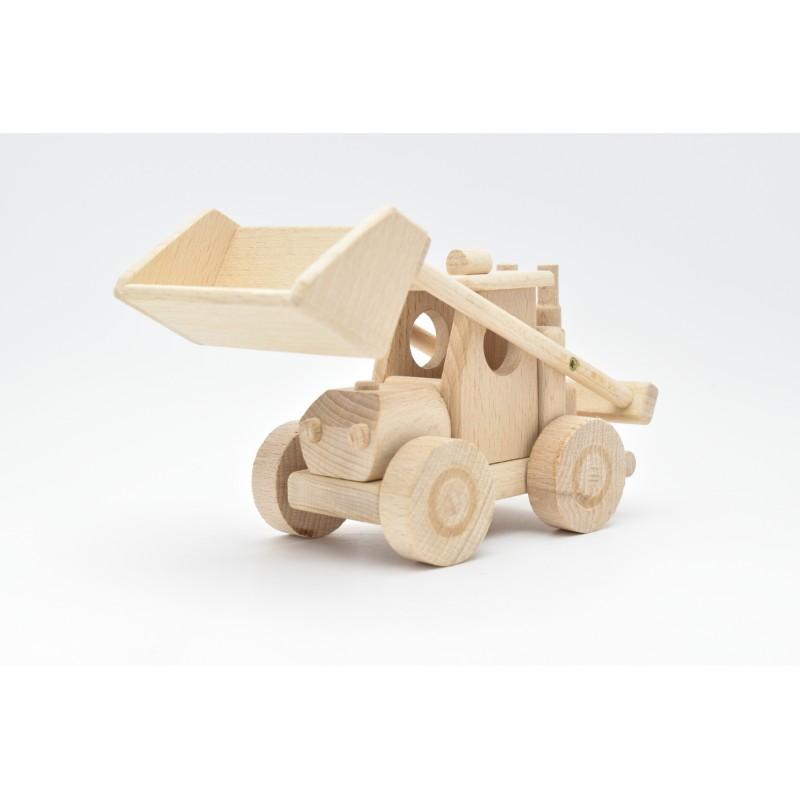 Excavator Wood Model